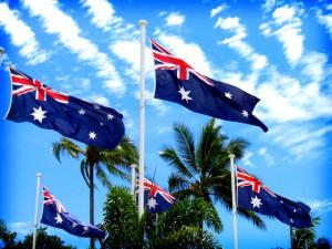 Die australische Flagge