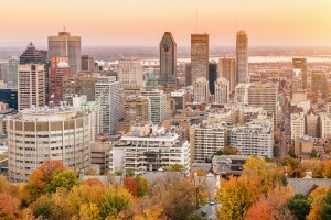 Montreal im Sonnenuntergang