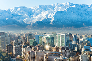 Skyline Santiago de Chile